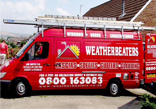 weatherbeaters van left